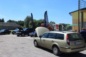 Ford Mondeo na badaniu technicznym podczas akcji serwisowej MaXserwis