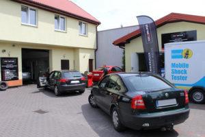 Audi i Skoda podczas badania technicznego MaXserwis w Rypinie