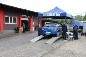 Wspólna akcja serwisowa Bilstein i MaXserwis - Renault Clio podczas badania