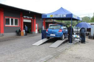 Wspólna akcja serwisowa Bilstein i MaXserwis, diagnostyka Renault clio