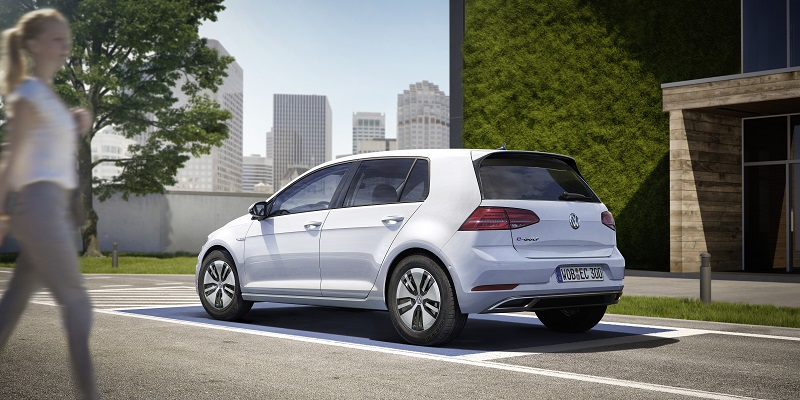 Nowy VW e-golf