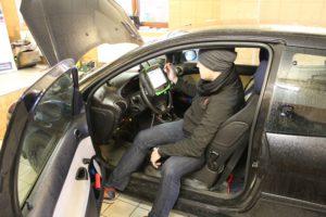 Kontrola stanu technicznego auta podczas akcji serwisowej MaXserwis w Knurowie
