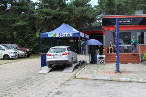 Ford Fokus podczas akcji serwisowej w AUTO-KOLAND MaXserwis