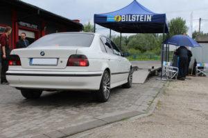Wspólna akcja serwisowa Bilstein i MaXserwis - na badaniu BMW