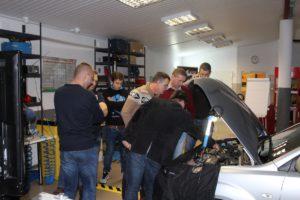 diagnostyka silnika - szkolenie praktyczne - naprawa silnika