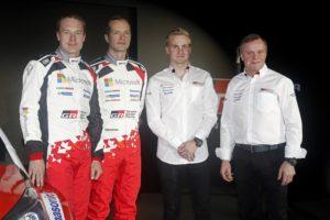 Latvala i Hanninen w ekipie Toyota Gazoo Racing