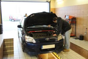Toyota na akcji MaXserwis Combocars w Knurowie