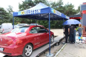 Peugeot 307CC podczas badania technicznego MaXserwis