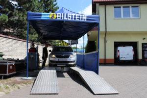 Skoda na badaniu technicznym Bilstein i MaXserwis