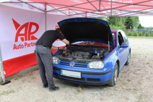 Volkswagen Golf na akcji serwisowej MaXserwis