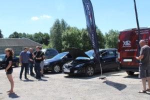 Samochody na badaniu technicznym MaXserwis i Bilstein