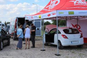 Opel Corsa podczas akcji serwisowej MaXserwis