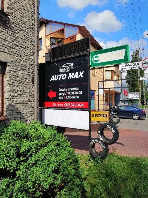 Naprawa samochodów auto max