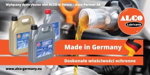 Promocja producenta Alco oleje