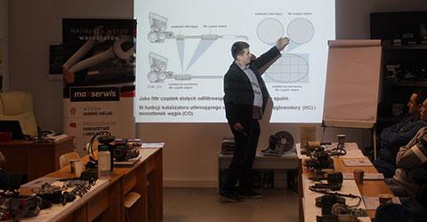 diagnostyka silnika: szkolenie sieci warsztatów MaXserwis
