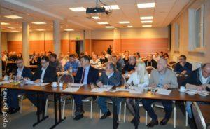 Szkolenie na ogólnopolskim spotkaniu właścicieli warsztatów z sieci MaXserwis