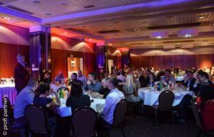 Uroczysta kolacja na Ogólnopolskim spotkaniu właścicieli warsztatów w sieci MaXserwis