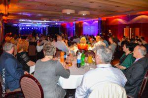 uroczysta gala na ogólnopolskim spotkaniu właścicieli warsztatów z sieci Maxserwis